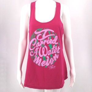 DIRTY DANCING Tank XL I Carried A Watermelon Pink